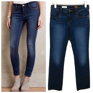 Anthropologie Pilcro Low Rise Straight Jeans 29